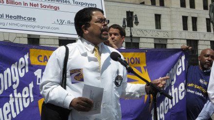 Dr. Matthews Hurley, Doctors Council SEIU