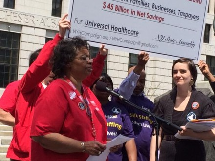 Marva Wade, NYS Nurses Association.  Credit: NYS Nurses Association