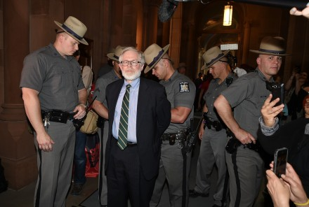 Being arrested for stronger rent laws! (Credit: A/M Gottfried's office)