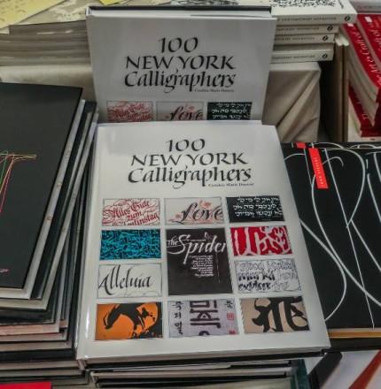 100 NY Calligraphers Book